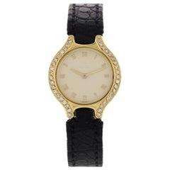 Ladies Ebel 18 Karat Yellow Gold with Diamonds