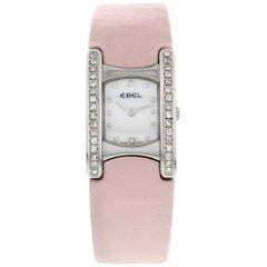 Ladies Ebel Beluga Stainless Steel with Diamonds E9057A21