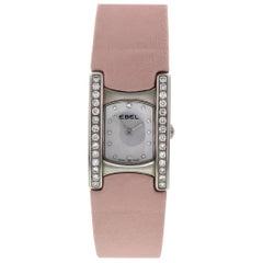Ladies Ebel Beluga Stainless Steel with Diamonds Watch