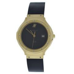 Ladies Hublot MDM Geneve Classic Steel 18 Karat Gold Quartz Watch