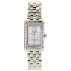 Ladies Longines DolceVita Stainless Steel with Diamonds L5.155.0
