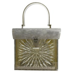 Ladies Lucite Bag by Gilli of New York, circa 1950s