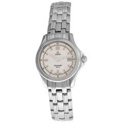 Ladies Omega Seamaster 2571.20 Stainless Steel Quartz Watch