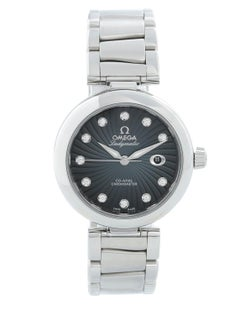 Ladies Omega Stainless Steel DeVille Ladymatic Watch
