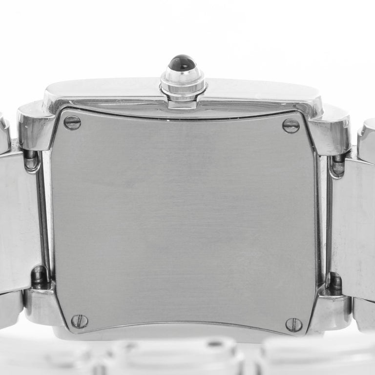 Women's Ladies Patek Philippe Twenty-4 Watch Stainless Steel White Dial Watch 4910/10A For Sale