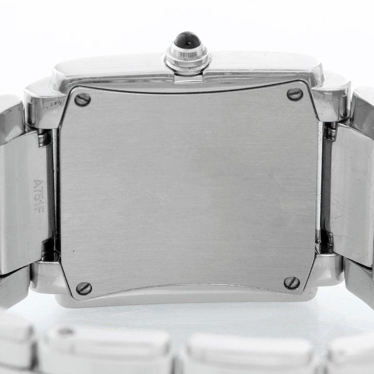 Women's Ladies Patek Philippe Twenty-4 Watch Stainless Steel White Dial Watch 4910 For Sale