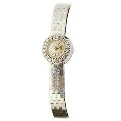 Ladies Piaget Wristwatch in 18 Karat Gold and Diamonds