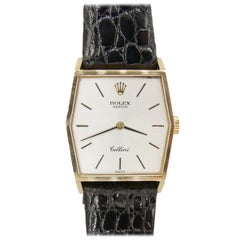 Ladies Rolex Cellini 18 Karat Yellow Gold with Original Box and Papers