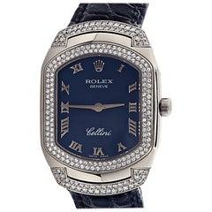 Ladies Rolex Cellissima Cellini Diamond Wristwatch