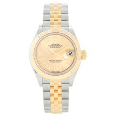 Ladies Rolex Datejust 18K Yellow Gold and Stainless Steel 279173