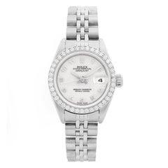 Ladies Rolex Datejust Stainless Steel Watch 79174