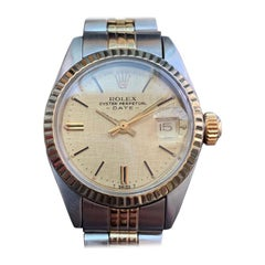 Ladies Rolex Oyster Perpetual Date 6917 18k & ss Automatic, c.1970s LV747