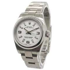 Ladies Rolex Oyster Perpetual on Oyster Bracelet, circa 2010, Box and Papers