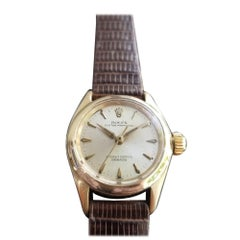 Ladies Rolex Oyster Perpetual Ref.6619 14k Gold Automatic, c.1960s RA134
