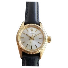 Ladies Rolex Oyster Perpetual Ref.6802 18k Gold Automatic, c.1960s RA135