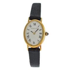 Ladies Tiffany & Co. Classic 14 Karat Yellow Gold Mechanical Watch
