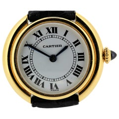 Vintage Cartier Paris Vendome Small Watch manual wind.