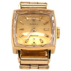 Ladies Yellow Gold Rolex Bracelet Watch, circa 1960
