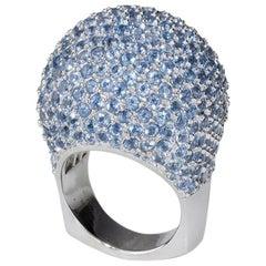 Lady Jane St Tropez Dome Ring with Swiss Topaz
