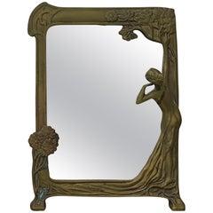Art Nouveau Table Mirrors