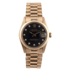 Lady Rolex Date-Just Superlative Chronometer Officially Certified Ref. 6827