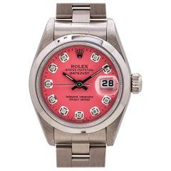 Lady Rolex Datejust Ref 79160 Stainless Steel, circa 2003