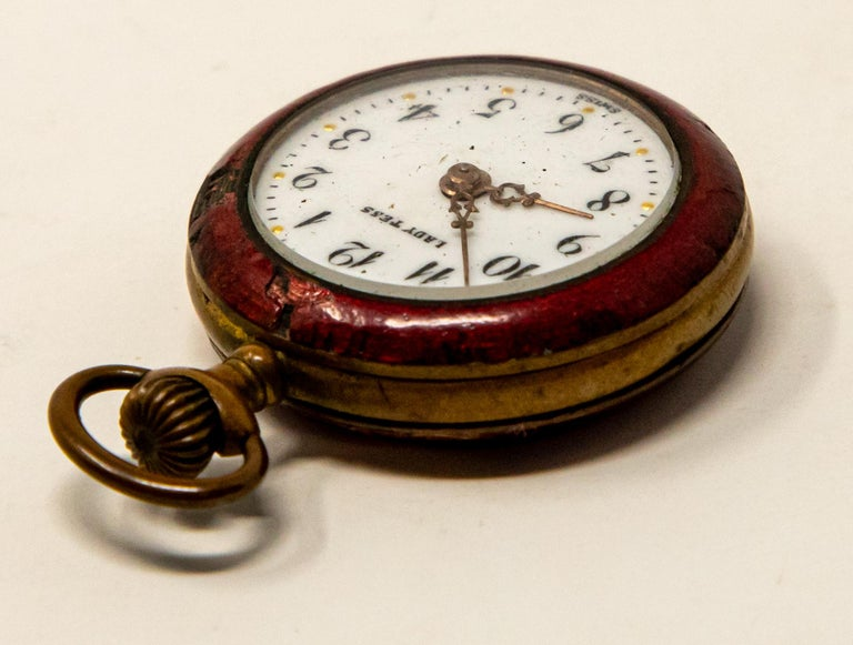 Lady Tess Ladies Pocket Watch For Sale 1