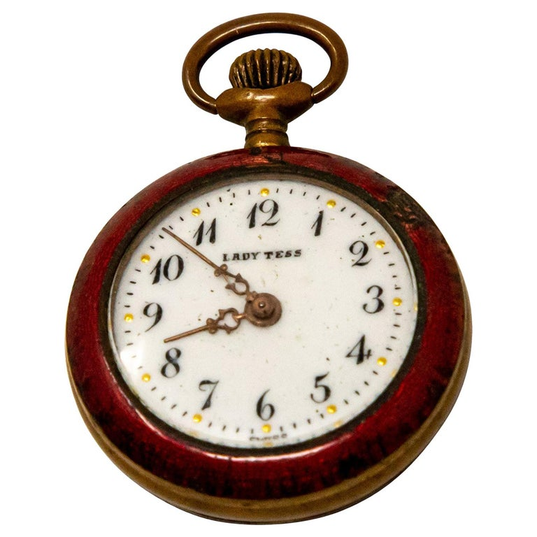 Lady Tess Ladies Pocket Watch For Sale