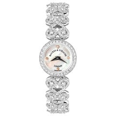 Lady Victoria Luxury Diamond Watch for Women, White Gold