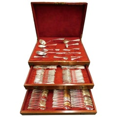 Lady Washington by Gorham Sterling Silver Flatware Set 12 Service 109 Pcs Dinner