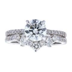 Ladies Diamond Tiara Wedding Band 'Custom'