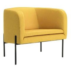 Laetitia Yellow Armchair by Fabio Fantolino