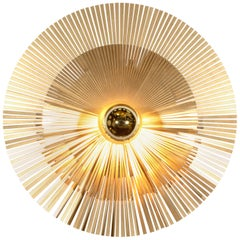 Lafaiette S Wall Lamp in Breass
