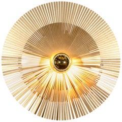 Lafaiette Wall Lamp in Breass