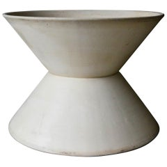 Lagardo Tacket for Architectural Pottery T-103 Bisque Double Wok, circa 1955