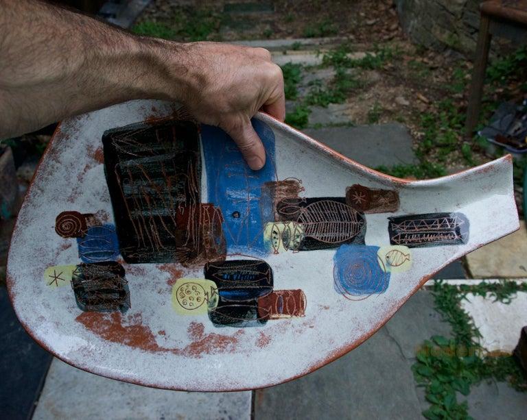 LaGardo Tackett Studio Pottery Platter Pasadena California Design 1