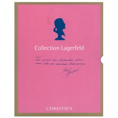 Lagerfeld Collection, Christies April and May, 2000, Sales Catalogues