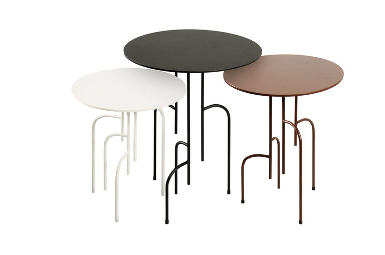 Lagoas Accent Side Round Table For Sale 2