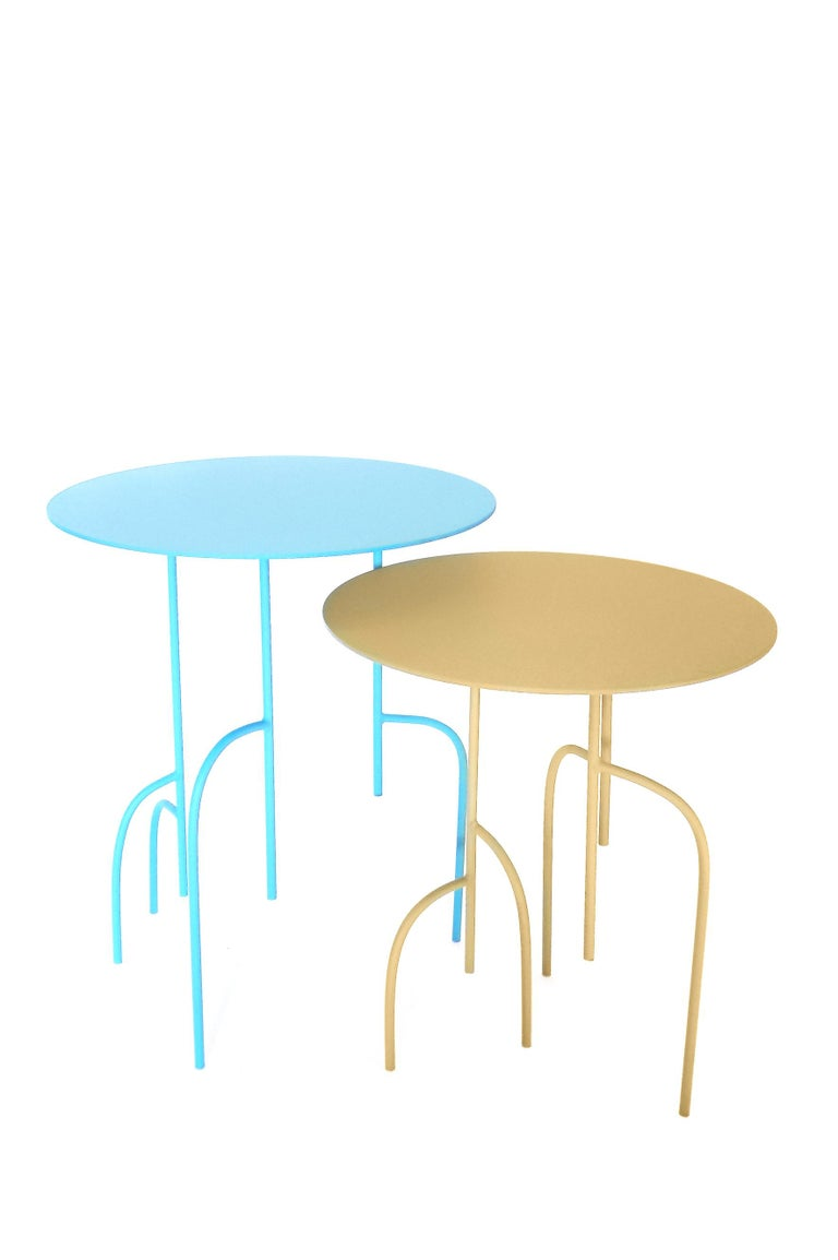 Lagoas Accent Side Round Table For Sale 4