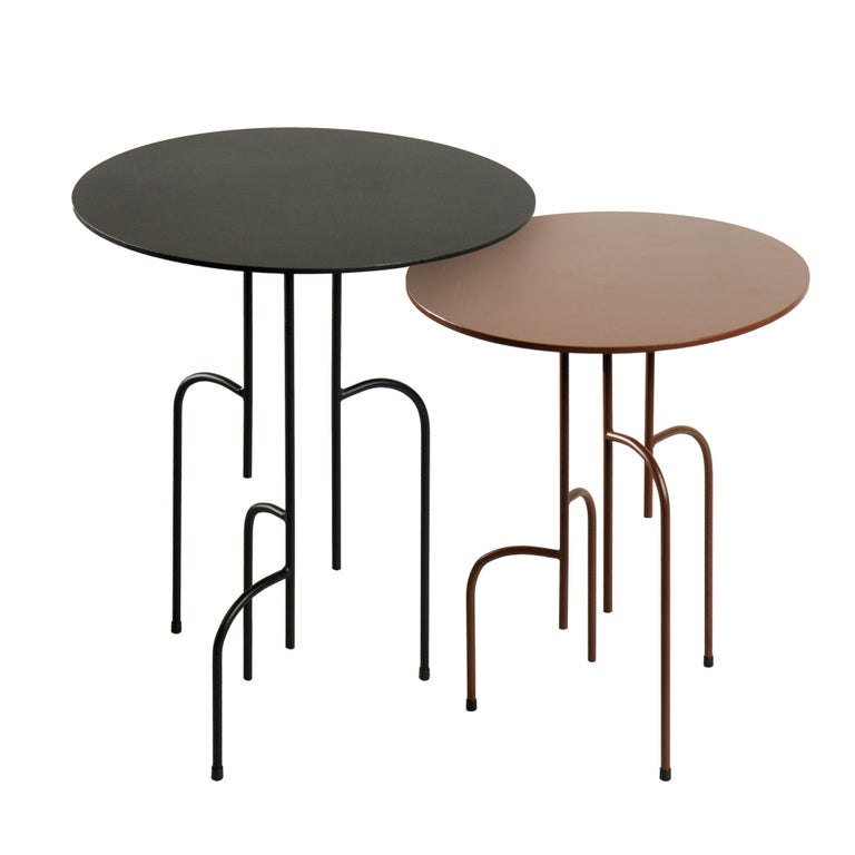 Lagoas Accent Side Round Table For Sale 1