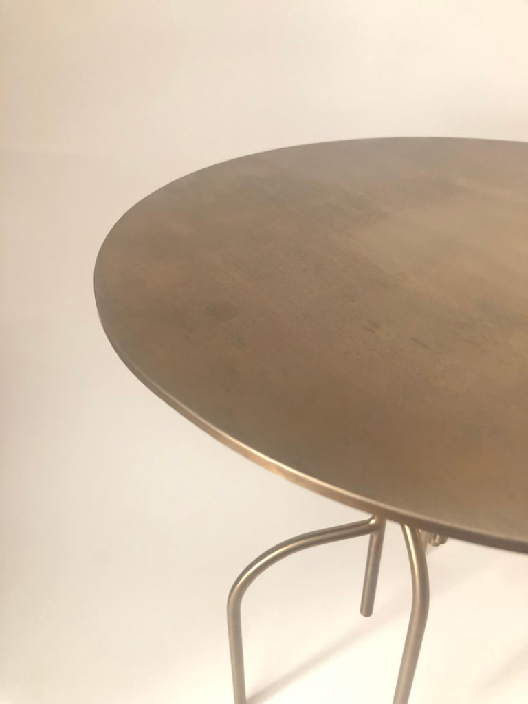 Contemporary Lagoas Accent Side Round Table