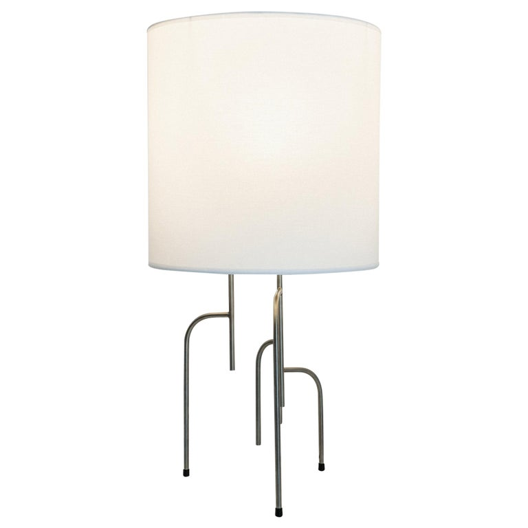 Lagoas Table Lamp, Oil-Rubbed Dark Gray by Filipe Ramos For Sale