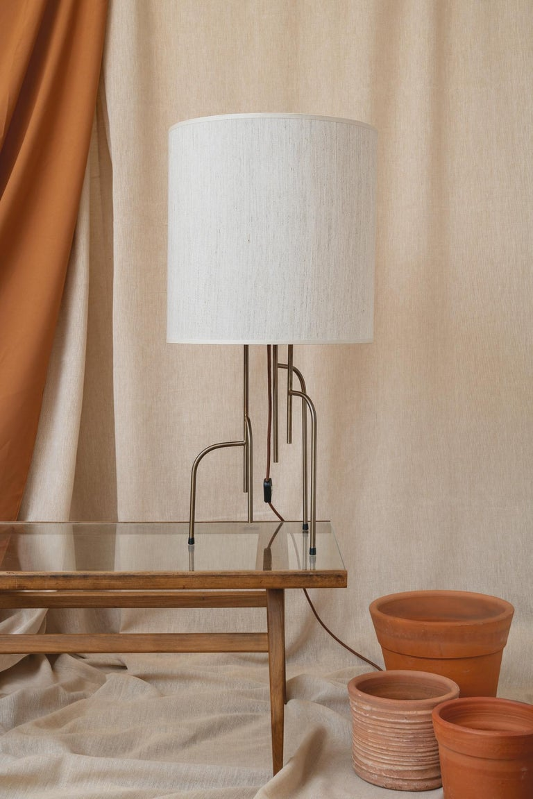 Lagoas Table Lamp, Oil-Rubbed Old Gold by Filipe Ramos For Sale 2
