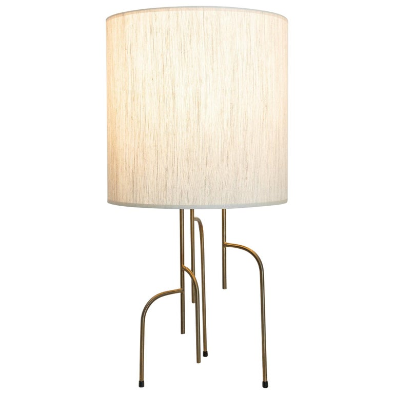Lagoas Table Lamp, Oil-Rubbed Old Gold by Filipe Ramos For Sale