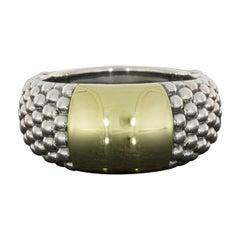 Lagos Caviar Mixed Metals Band Ring