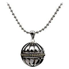 Lagos Caviar Talisman Sterling Silver Pendant