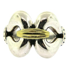 Lagos Derby Ring in 18K and Sterling
