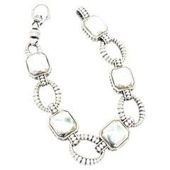 Lagos Link Bracelet 36.50 Grams 925 Sterling Silver
