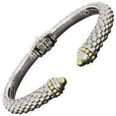 Lagos Signature Caviar Mixed Metals Cuff Bracelets