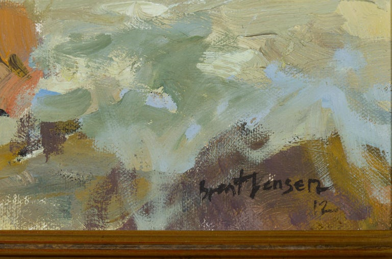 Contemporary Laguna Beach Sunset, B. Jensen, American Painter For Sale